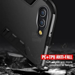 Phone Cases Silicone Holder Phone Case Luxury Armor Shockproof For HuaweiHonor10 HuaweiHonor8x HuaweiHonor9Lite Back Cover For Huawei Honor 8x Max 8x
