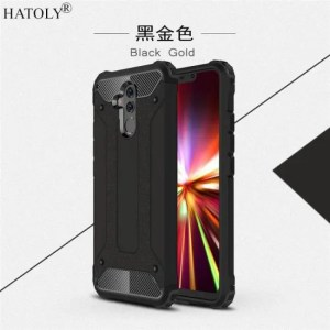 Phone Cases Silicone Cover Rubber Armor Shell Hard Case For Huawei Mate20Lite armor