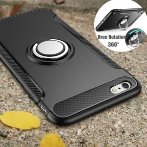 Phone Cases Phone Cover Case Car Holder Magnetic Suction Ring Rugged Armor  For iPhone7 iPhone8 iPhoneX iPhone6SPlus armor