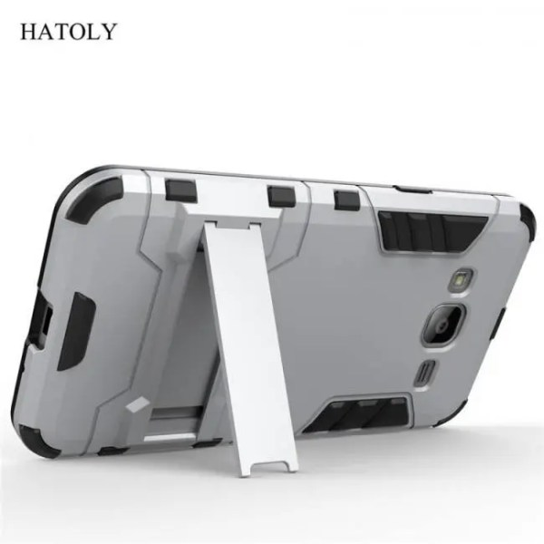 Phone Cases Shell Cover Rubber Case Robot Armor Hard Back Phone Case for Samsung Galaxy J3 Cover armor