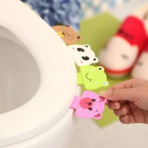 FREE SHIPPING Cartoon Toilet Lid Cover Lifting Device Potty Ring Bathroom Products bathroom