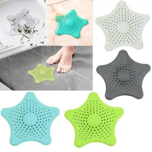 FREE SHIPPING Silicone Suckers Colanders for Kitchen Bathroom Sink Accessories to Filter Hair Strainers Accessories