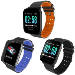 FREE SHIPPING Smart Bracelet Wristbands for Fitness Waterproof Tracker Watch Blood Pressure Measurement 50M