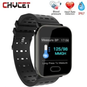 FREE SHIPPING Smart Bracelet Wristbands for Fitness Waterproof Tracker Watch Blood Pressure Measurement 50M