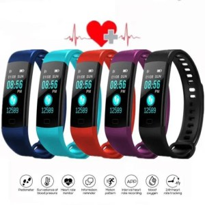 I need it SFPW-7 Fitness Smart Pedometer Health Activity Monitor Pulsometer BP Bluetooth Bracelet Watch 50M