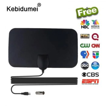 FREE SHIPPING 4K 25dB High Gain HDTV DTV Digital TV Antenna 25dB