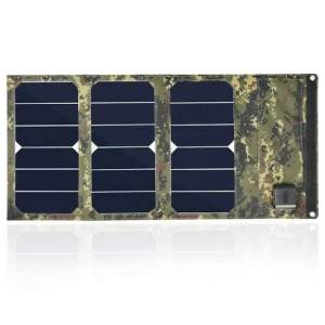 Charge Portable camouflage colors 20W Folding Foldable Solar Panel Waterproof Mobile  Phone Battery Dual USB 5V 2A Charger 20W