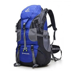 FREE SHIPPING 50L Outdoor Backpack Camping Waterproof Mountaineering Hiking  Backpack FK0396 600D