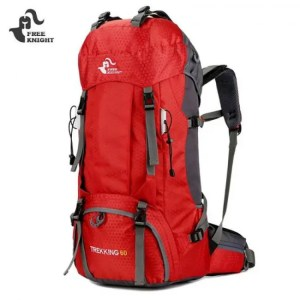 FREE SHIPPING 60L / 50L Camping Hiking Backpacks Nylon Outdoor Travel Bag 600D