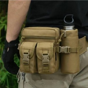 FREE SHIPPING Outdoor Military Tactical Shoulder Bag Waterproof Waist Pack Bag Camping