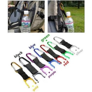FREE SHIPPING Climbing Carabiner Water Bottle Buckle Hook Holder Clip For Camping Camping
