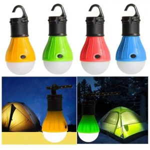 FREE SHIPPING Outdoor Camping Tent Accessory Lamp Tent Light Bulb Hanging 3LED Night Light Mini Portable Travel Tools backpack