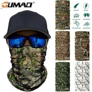 FREE SHIPPING 3D Jungle Tree Camo Neck Gaiter Face Shield Bandana Mask 3D Jungle Tree
