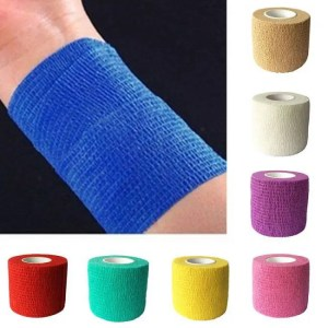 FREE SHIPPING Elastic Adhesive Muscle Bandage Care Therapeutic Brace Support Tape Adhesive