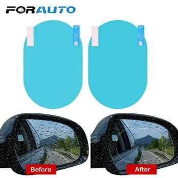 FREE SHIPPING 2PCS/Set Side Mirror Anti-glare Anti Fog  Protective Waterproof Rainproof Clear Film Car Sticker Anti