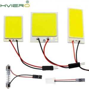 Accessories White T10 SMD COB LED Car Panel light Car