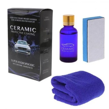 FREE SHIPPING Liquid Glass 9H Nano Hydrophobic Ceramic Coating Car Care Anti-Scratch 30Ml kit 30ML
