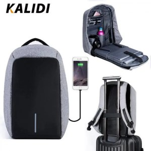 FREE SHIPPING KALIDI Waterproof Laptop Backpack Multifunction Anti theft Backpack USB Charging Travel School Free shipping