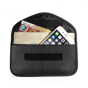 FREE SHIPPING New GSM 3G 4G LTE GPS RF RFID Signal Blocking Bag Anti-Radiation Signal Shielding Pouch Wallet Case for Cell Phone 6 Inch Free shipping