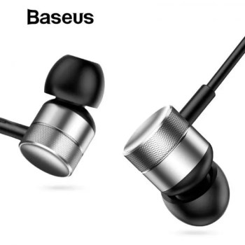 FREE SHIPPING Baseus H04 Bass Sound Earphone In-Ear Sport Earphones with mic for xiaomi iPhone Samsung Headset fone de ouvido auriculares MP3 Free shipping