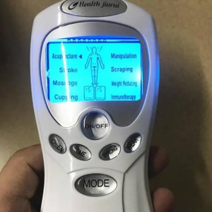 FREE SHIPPING Dual Output 8 Electrodes Electric Tens Unit Body Therapy Massager Machine Electronic Pulse Massage Relax Muscle Stimulator Body