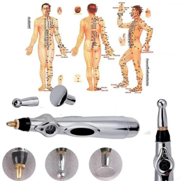 FREE SHIPPING Acupuncture Pen Monitor Electric Meridians Energy Pen Magnet Therapy instrument Free shipping