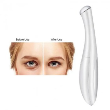 FREE SHIPPING Electric Eye Massager Mini Eyes Wrinkle Dark Circles Removal Pen Anti Aging Massager Negative Ion Vibration Face Lifting Tool Anti Aging