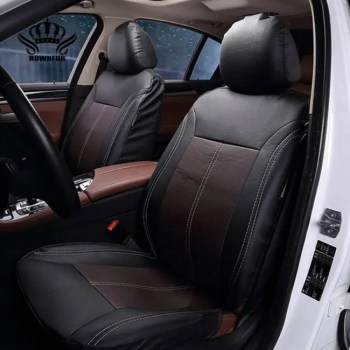 FREE SHIPPING New Luxury PU Leather Auto Universal Car Seat Covers Auto