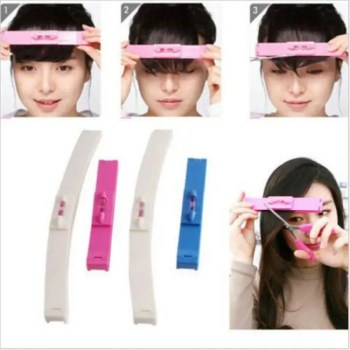FREE SHIPPING DIY1 Set New Women  Hair Trimmer Fringe Cut Tool Clipper Comb Guide for Cute Hair Bang Level Ruler Hair Accessories discount