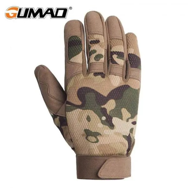 FREE SHIPPING Multicam Outdoor Tactical Gloves Army Military Bicycle Airsoft Hiking Climbing Shooting Paintball Camo Sport Full Finger Gloves Airsoft