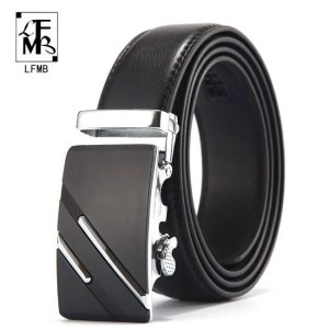 FREE SHIPPING LFMB Famous Brand Belt Men Top Quality Genuine Luxury Leather Belts for Men,Strap Male Metal Automatic Buckle Free shipping