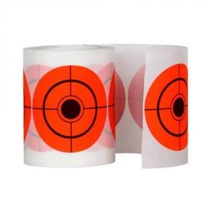 FREE SHIPPING 250Pcs 7.5 Diameter Adhesive Shooting Target Round Splatter Sticker Target Shooting Portable Field Target Roll Shoot Accessories discount