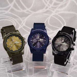FREE SHIPPING Men Nylon band Military watch Gemius Army watch High Quality Quartz Movement Men sports watch Casual wristwatches [tag]