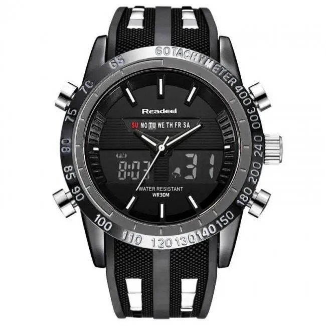 2018 Solar Energy Watch Digital Watches Men Led Solar Male Clock Men Military Wristwatches Quartz Sports Watch Relogio Masculino Watches Quartz Watches