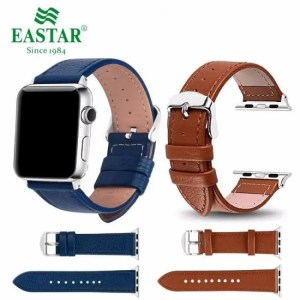 FREE SHIPPING Eastar 3 Color Hot Sell Leather Watchband for Apple Watch Band Series 3/2/1 Sport Bracelet 42 mm 38 mm Strap For iwatch 4 Band [tag]