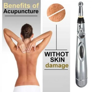 Acupuncture Pen, Meridian Acupoint Energy Massage Pen, Needleless Acupuncture Tools for Pain Relief and Healthcare