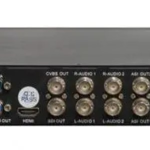 Receiver GEOSATpro DSR180ASI 708CC RACK MOUNT IRD WITH 2xSDI, 2xASI and IP broadcast