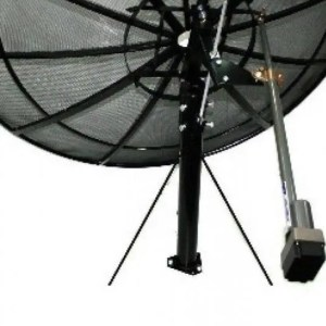 Prime C 300cm (10ft) C Ku Band Prime Focus Mesh Satellite Dish CB300 antenna