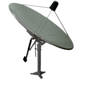 Prime C 240cm (8ft) C Ku Band Prime Focus Solid Satellite Dish CB240 240cm