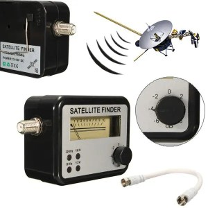 Signal Sadoun SF95L DSS DBS Satellite Signal Finder antenna