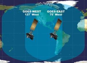Satellites List North South America Atlantic