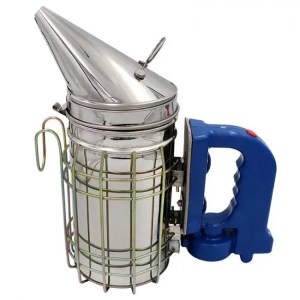 FREE SHIPPING Stainless Steel Bee Hive Smoker with Air fan Air