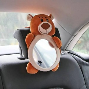 Accessories Mini Car Accessories Rearview Wide View Rear Adjustable Safety Seat Headrest Mount Baby Mirror Accessories