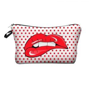 FREE SHIPPING Women's Printed Makeup Bag [tag]