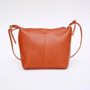 FREE SHIPPING Fashion Minimalistic Compact Leather Women's Shoulder Bag [tag]