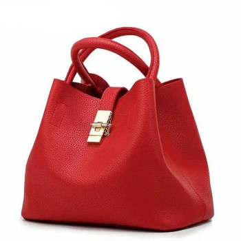 FREE SHIPPING Women's Casual PU Leather Shoulder Bag [tag]