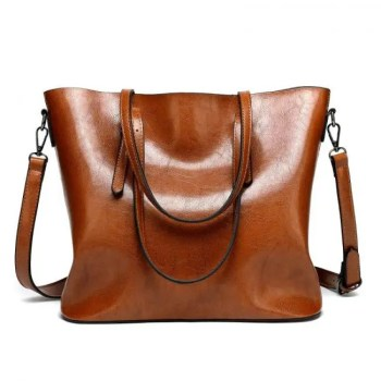 FREE SHIPPING Women's Casual Tote Leather Handbag [tag]
