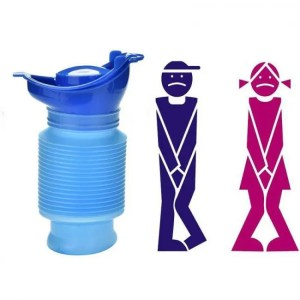 Travel Reusable Portable Travel Urinal Unisex Emergency