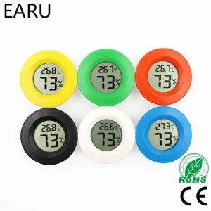 Weather Mini LCD Digital Thermometer Hygrometer Fridge Freezer Tester Temperature Humidity Meter Detector Thermograph [tag]