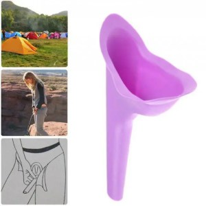 Travel Portable Stand Up & Pee Women Urinal Soft Silicone Urination Device for Outdoor Camping Travel Camping